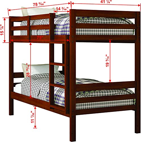 Donco Kids Modern Bunk Bed