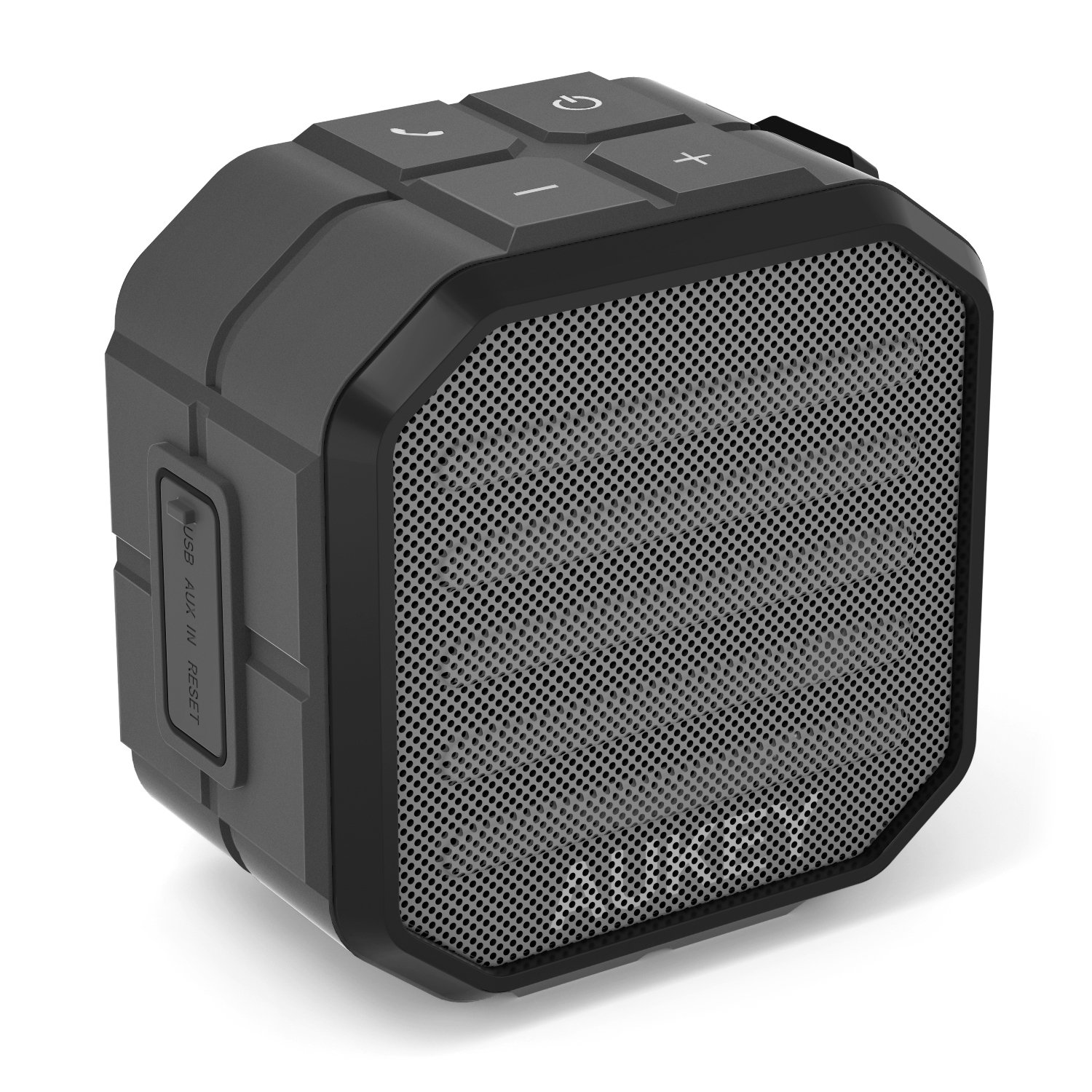 AUKEY Portable Bluetooth Speakers with Enhanced Bass and Built in Mic Outdoor Wireless Speaker Water Resistant for iPhone, iPad, Samsung by AUKEY (Image #8)