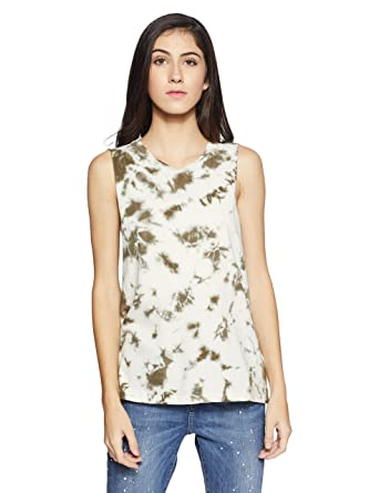 15f8838670 Forever 21 Women s Slim Fit T-Shirt  Amazon.in  Clothing   Accessories