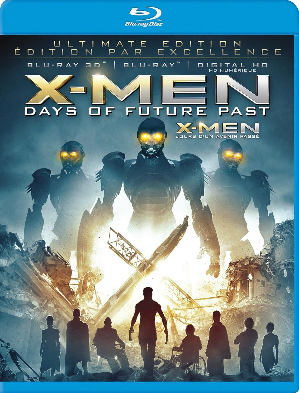 X-Men: Days of Future Past (Ultimate Edition) [Blu-ray 3D + Blu-ray + Digital Copy] (Bilingual) Hugh Jackman Patrick Stewart Ian McKellen James McAvoy