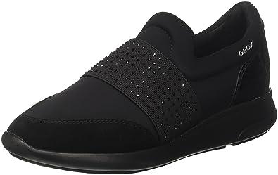 geox scarpe da ginnastica, Donna Sneakers Geox OPHIRA E Nero