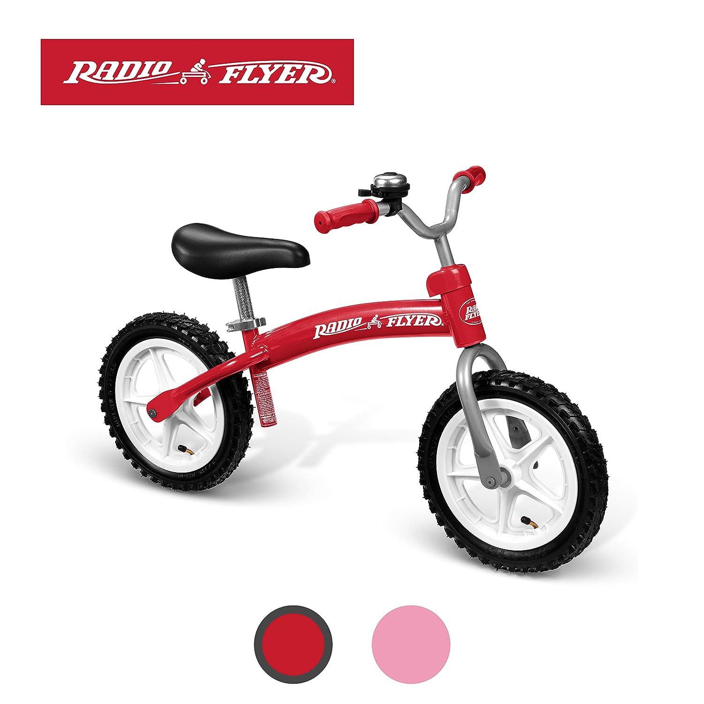 Amazon.com: Bicicleta de equilibrio roja Glide & Go de ...