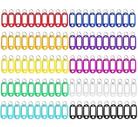 Amazon.com: Paquete de 150 etiquetas de plástico rígido para ...