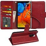 Arae LG stylo 4 Case, LG Q Stylus/Q Stylus+ / Q Stylus α case, [Stand Feature] PU Leather Wallet case with Wrist Strap…