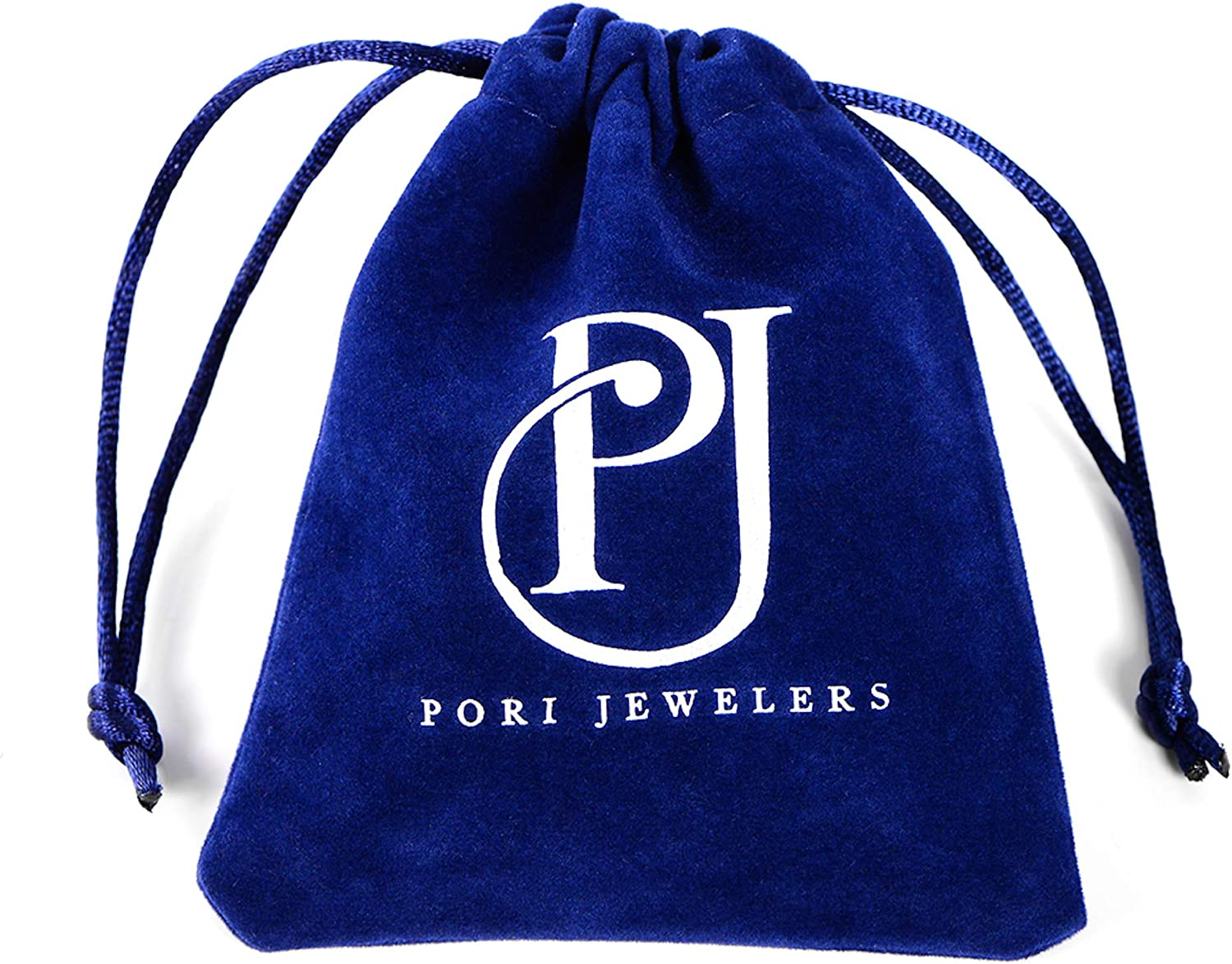18 Pori Jewelers 14K Yellow Gold Puffed Star Pendant in 14K Gold Cable Chain Necklace