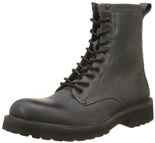 G-Star RAW Presting Deconstructed, Botas Estilo Motero para Hombre: Amazon.es: Zapatos y complementos