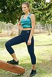 NIRLON Capri Leggings for Women 7/8 Length High