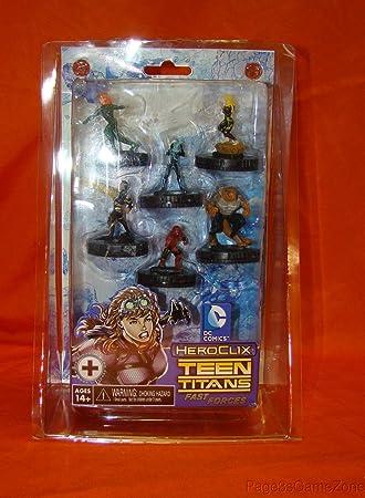 Desconocido DC Heroclix Teen Titans Fast Forces - Pack de Figuras ...