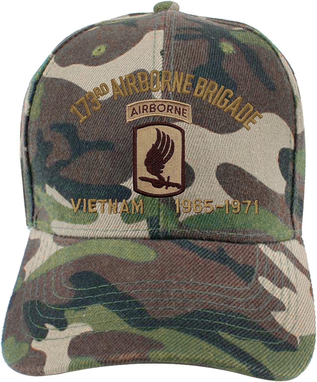NEW US ARMY 173RD AIRBORNE BRIGADE BEANIE CAP HAT BLACK