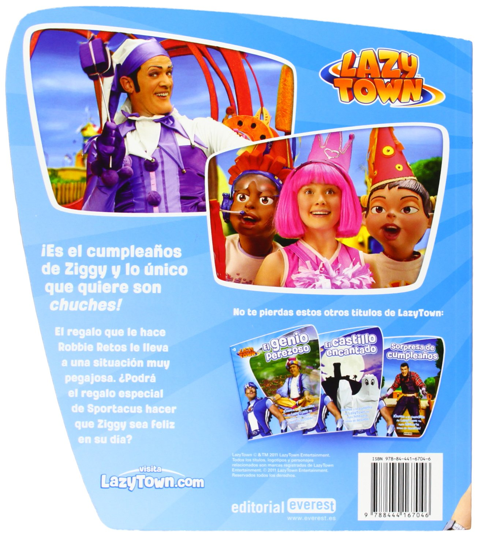 DIA DEL CEPILLADO (LAZY TOWN): AA.VV.: 9788444167046: Amazon ...