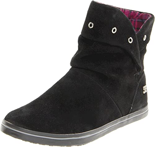 DC Shoes Schuhe-Aura Womens Boot-D0303225-Bg3D-Black, Botines para Mujer, Negro, 43 EU: Amazon.es: Zapatos y complementos