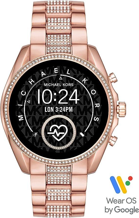 Michael Kors Smartwatch Pantalla táctil para Mujer de Connected con Correa en Acero Inoxidable MKT5089: Amazon.es: Relojes