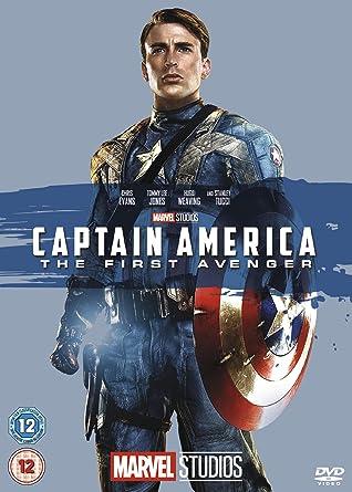 Captain America  The First Avenger  DVD   Amazon.co.uk  Chris Evans ... ac68c9874a86