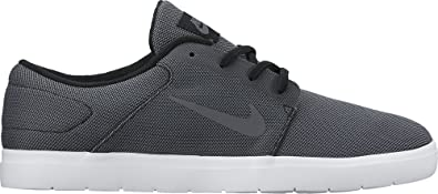 NIKE SB Portmore Ultralight CN Mens Trainers 844445 Sneakers Shoes (US 8,  Black Dark