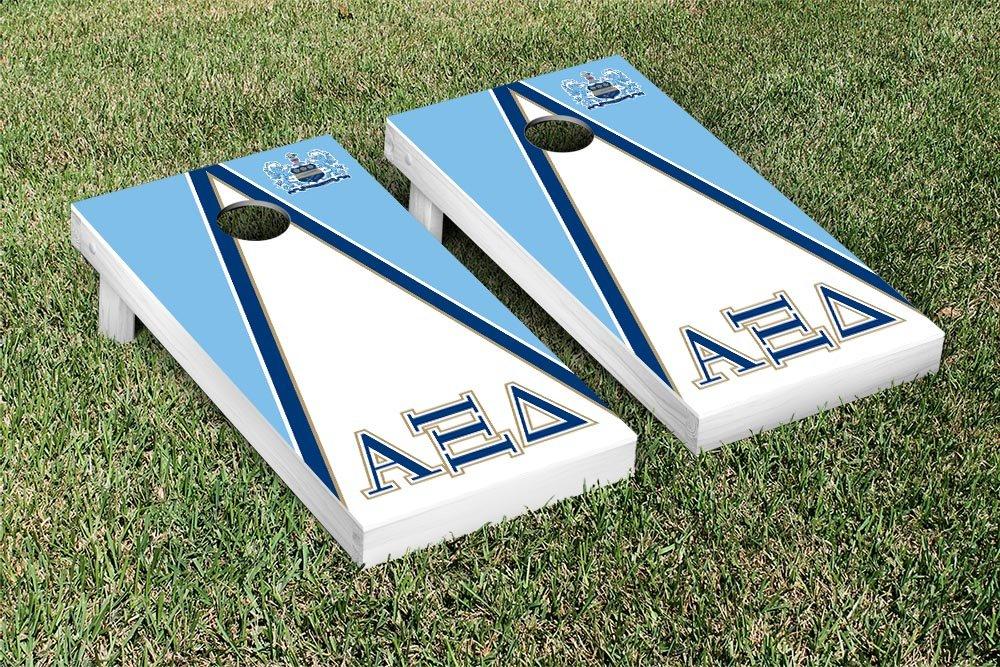 Alpha Xi Delta Cornhole Game Set三角形バージョン B00NJ2SCBK