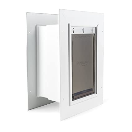 Amazon Petsafe Wall Entry Pet Door With Telescoping Tunnel