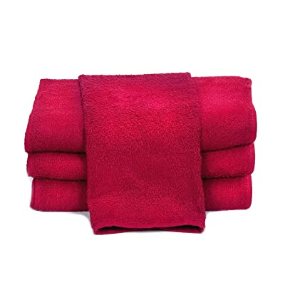 "Towels by Doctor Joe D-15253-RI-10DZ China Soaker Red 15"" x 25"" Super Absorbent Car Wash and Detailing Towel, (Pack of 120): Automotive"