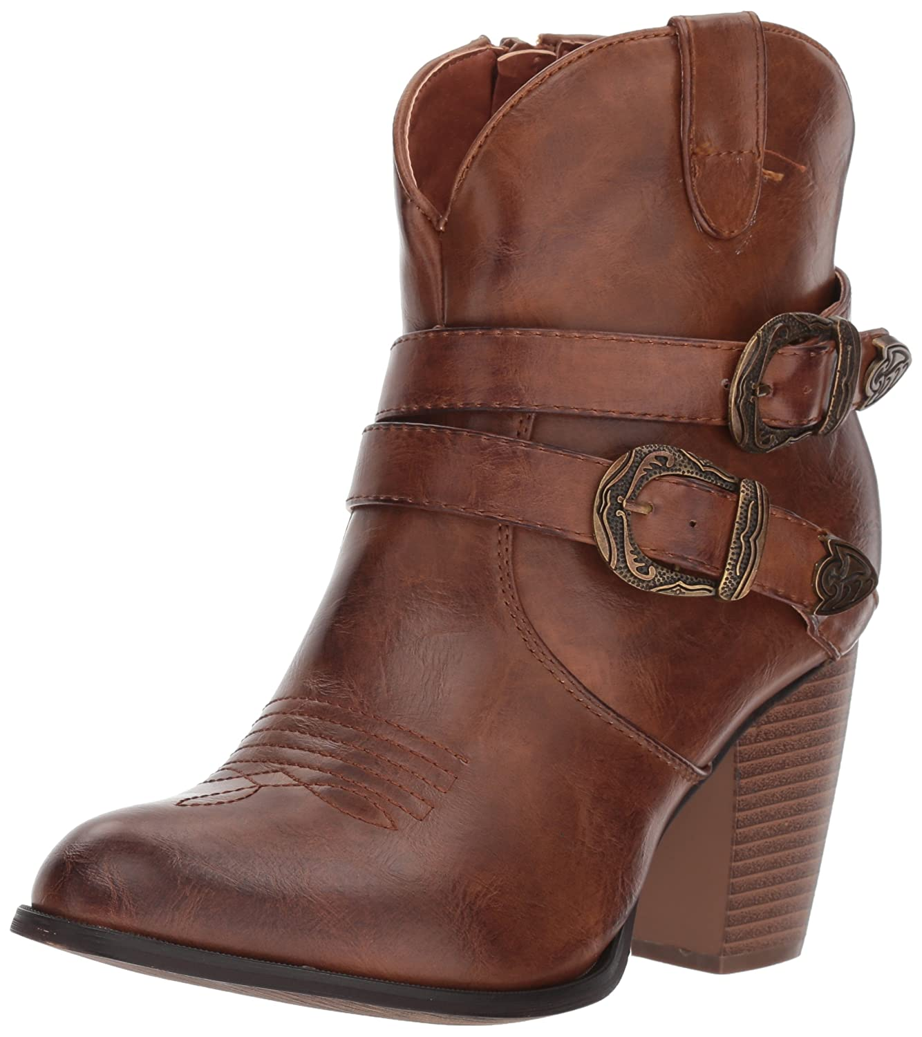 Roper Women's Maybelle Fashion Boot B074D4BXXH 6.5 B(M) US|Brown