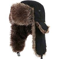 5f812b2efa7 Yesurprise Trapper Warm Russian Trooper Fur Earflap Winter Skiing Warm Hat  Cap Women Men Unisex Windproof