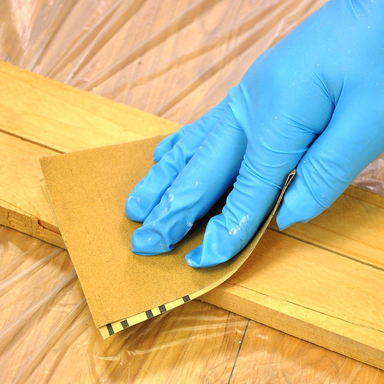60 piezas herramientas hojas de papel de lija lija de grano para herramientas de reparaci/ón de madera en casa Rollo de papel de lija de gran valor 22,86 x 9,6