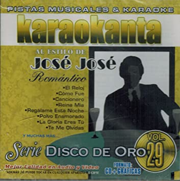 Jose Jose (Karaoke) - Jose Jose (Karaoke Volumen#29 Jade-172926) - Amazon.com Music