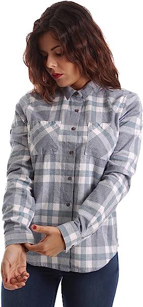 Superdry Damen Hemd, grau grau Größe: XL:
