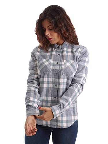 Superdry Damen Hemd, grau – grau – Größe: S