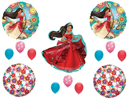 amazon com elena of avalor happy birthday party balloons decoration