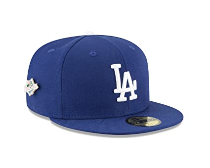 1f5ab5badbe46 New Era Los Angeles Dodgers World Series Pin 1988 Champions Fitted 59Fifty  MLB Hat (7