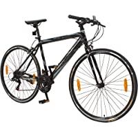 """Vaux 28"""" Adults Bicycle 700c Swifter Bike Comfortable Cycle for Men-Grey"""