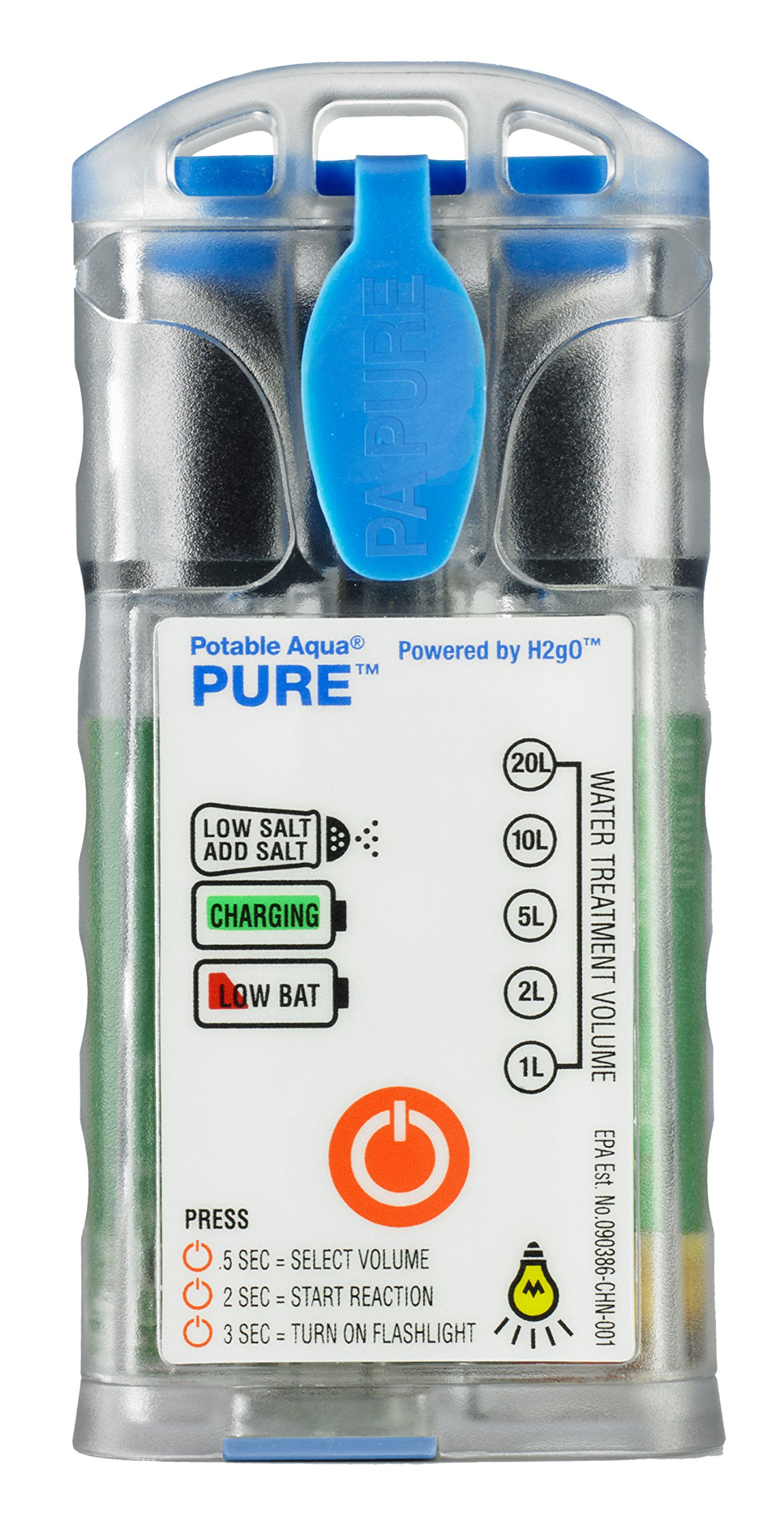 Potable Aqua Pure Portable Electrolytic Water Purifier Device by Potable Aqua