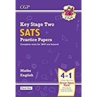 New KS2 Maths and English SATS Practice Papers Pack (for the 2019 tests) - Pack 1 (CGP KS2 SATs Practice Papers)