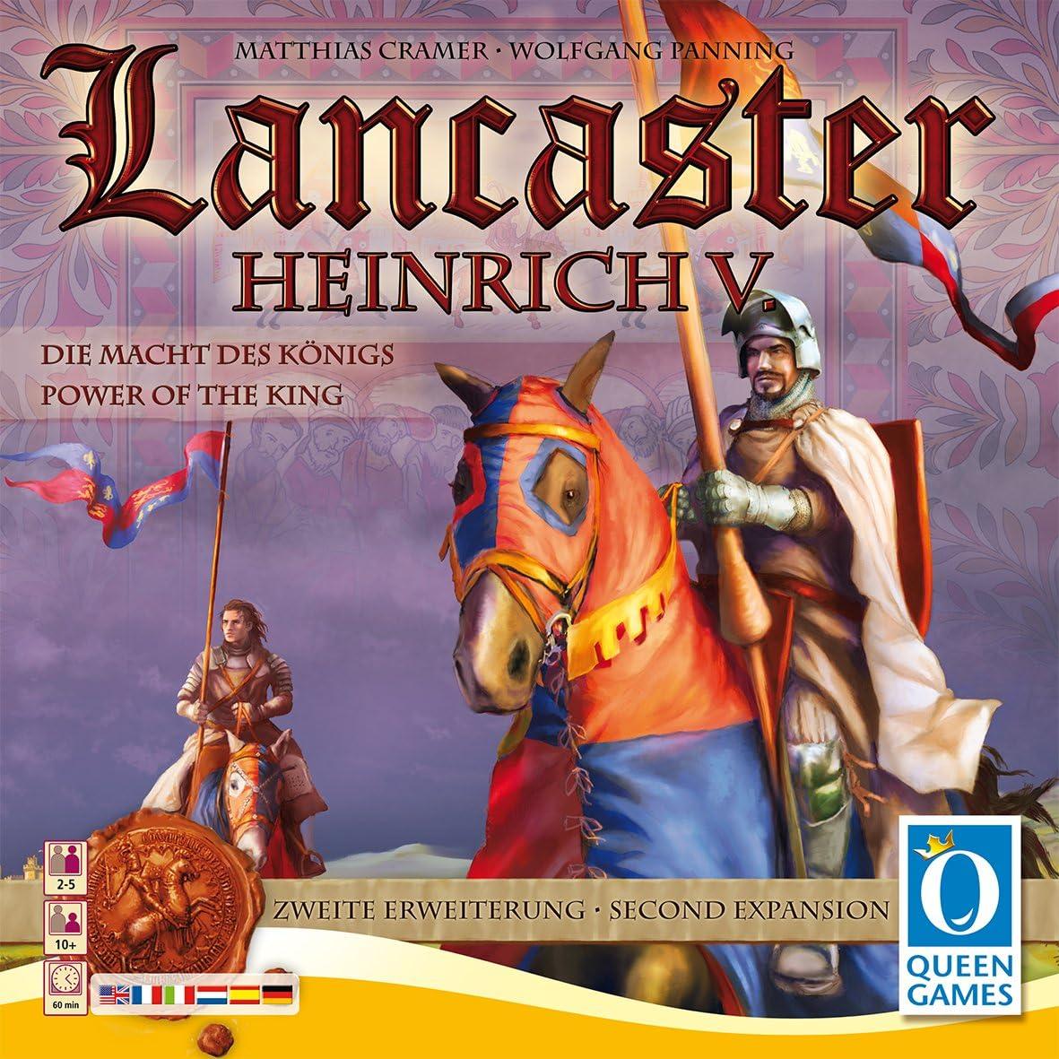 Lancaster: Heinrich V Expansion - Juego de Tablero (Queen Games QUE61023) (versión en inglés): Amazon.es: Juguetes y juegos