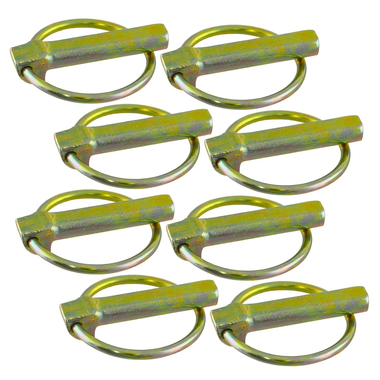 8pc dune clavette 10mm Lien Hayons Camions Remorques c/ôt/é Drop Collier Clip TE828