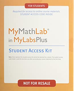 Mymathlab student access kit hall h pearson education mymathlab in mylabsplus student access kit fandeluxe Choice Image