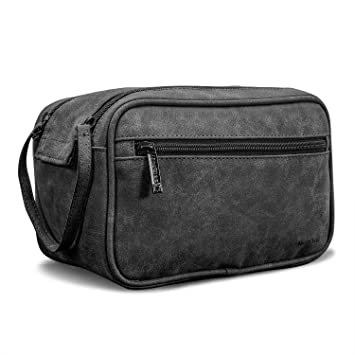 1659e5fe4792 Amazon.com   NiceEbag Travel Toiletry Bag Portable Travel Kit  Organizer Large Makeup Organizer Household Storage Pack Cosmetic Bag for Men  and Women (Black) ...