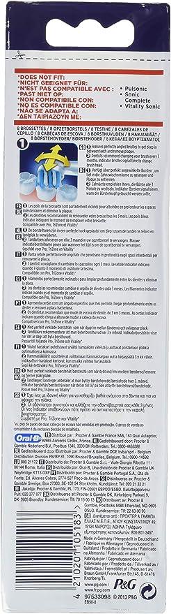 Braun 105275 cepillo de dientes- Cabezal (Color blanco): Amazon.es ...