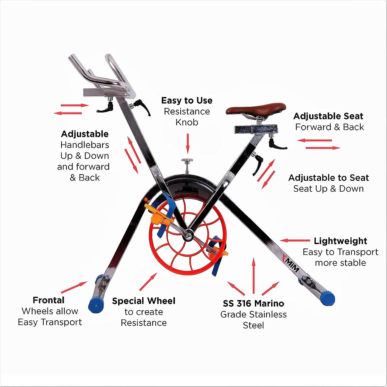 Bicicleta acuática comercial MiM USA | Aquabike profesional ...