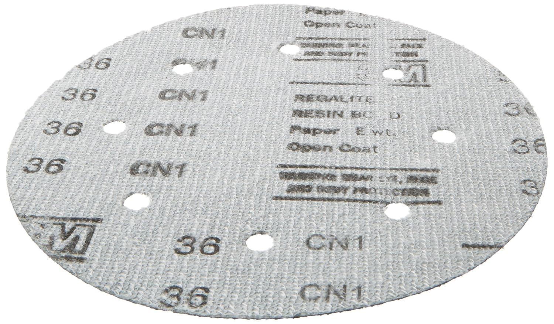 3M 00521 Green Corps Hookit 8 80E Grit Regalite Disc
