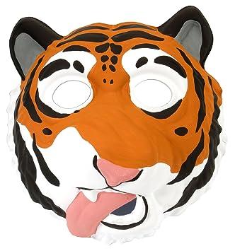 Wild Republic - Grinimals, máscara careta de tigre para niños y adultos (14279)