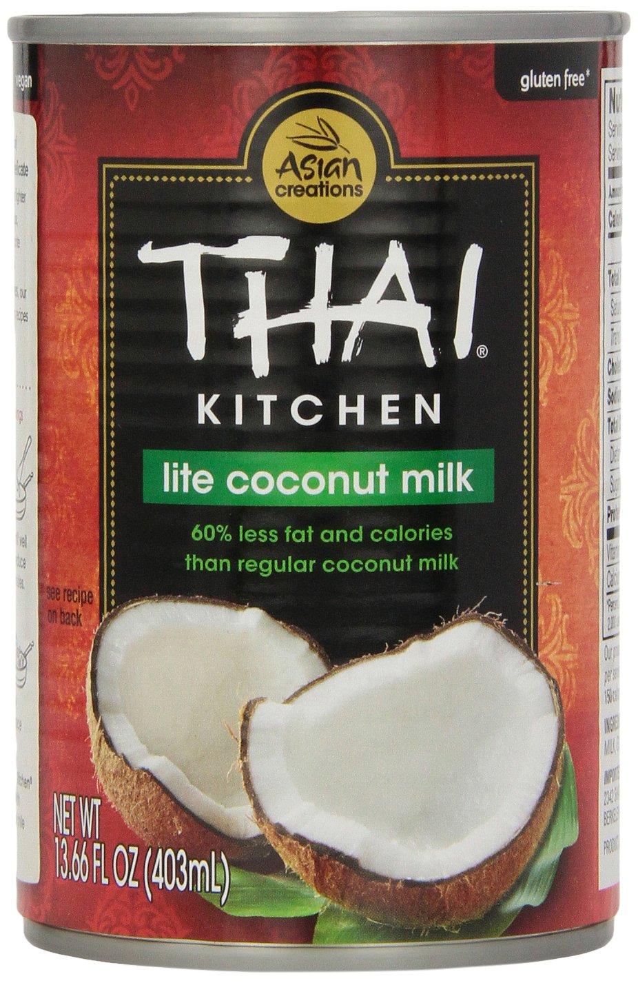 Thai Kitchen Pure Coconut Milk Lite, 14 oz by Thai Kitchen
