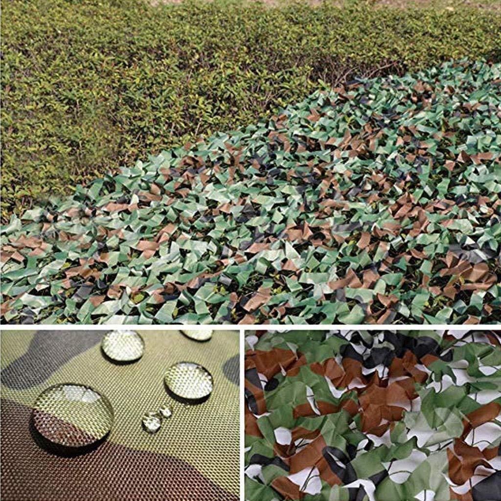 迷彩ネット日焼け止めネット車のカバーガーデンパーゴラスイミングプールウッドランド迷彩ネットキャンプ用ミリタリー狩猟射撃ブラインドウォッチング隠すパーティー装飾 ZHAOFENGMING (Color : 緑, Size : 10M×20M) 緑 10M×20M