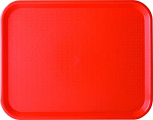 Carlisle CT101405 Cafe Standard Plastic Cafeteria/Fast Food Tray, NSF Certified, BPA Free, 14