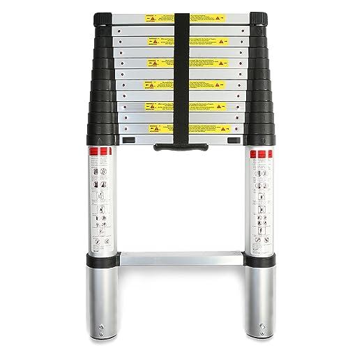2 opinioni per TRESKO® Scala Telescopica Metri In Alluminio- Norme EN131- SGS contrôlé- in