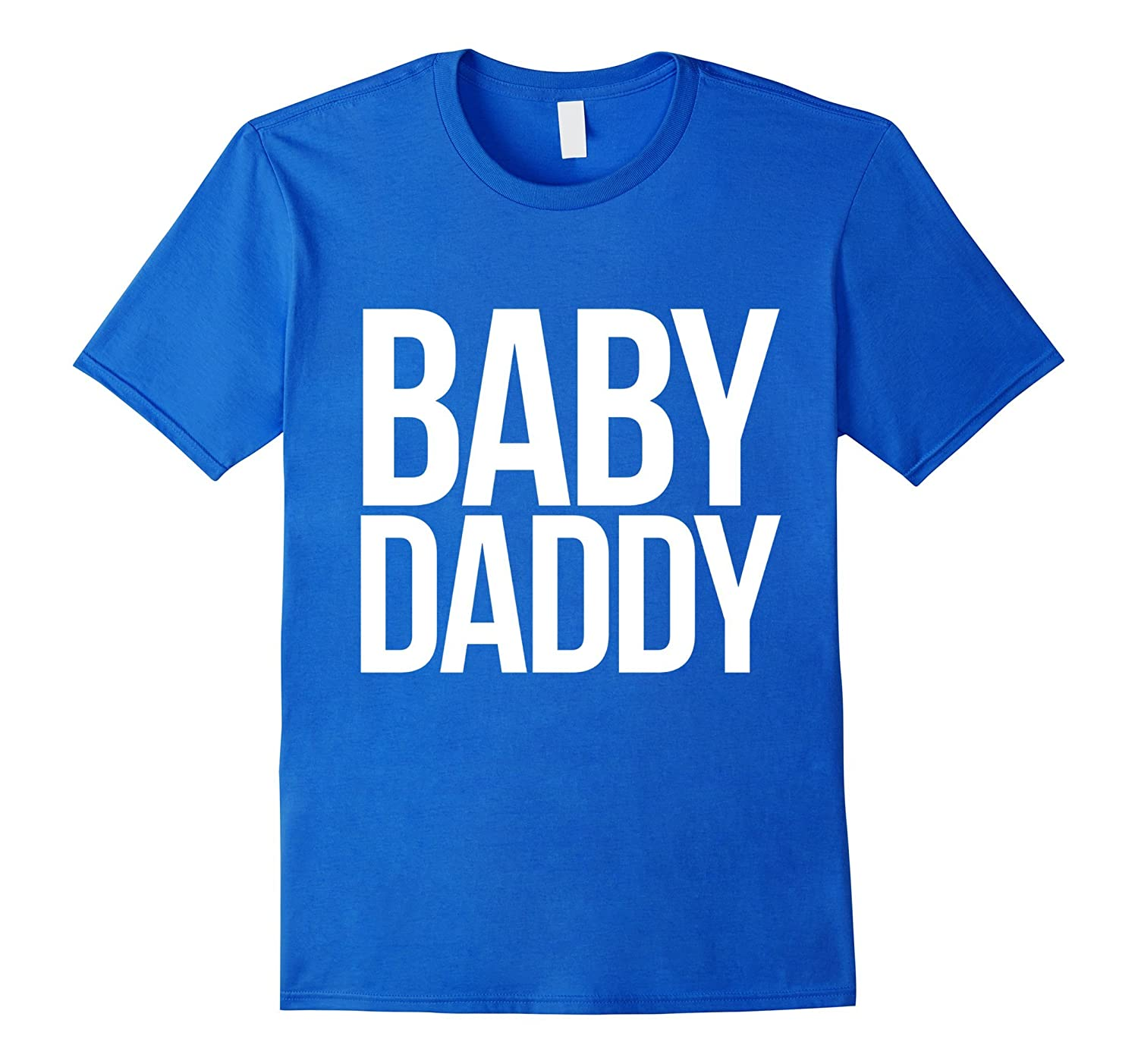 Baby daddy t-shirt funny new dad to be shirt fathers day t-TH
