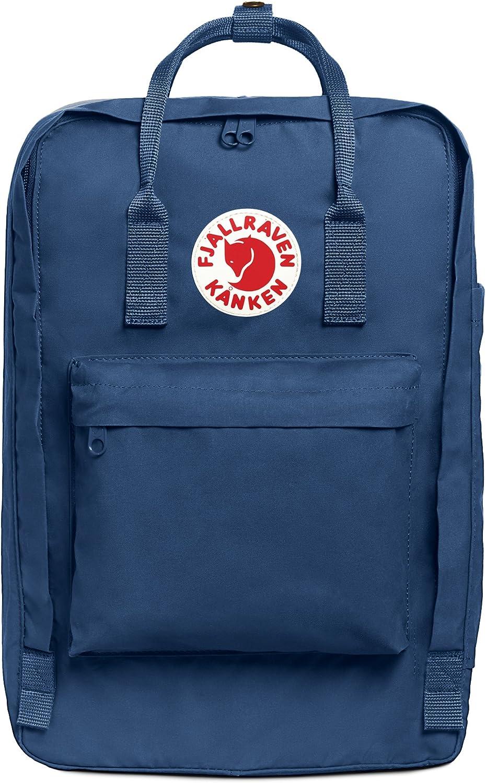 """Fjallraven, Kanken Laptop 17"""" Backpack for Everyday, Black"""