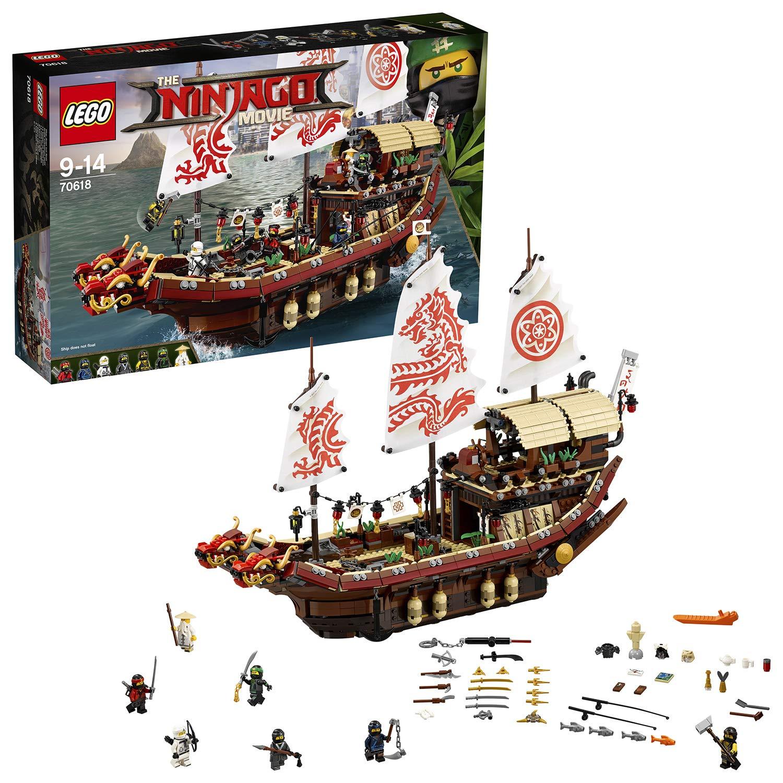 LEGO UK Ninjago Movie Destiny's Bounty Toy