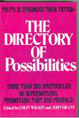 The Directory of Possibilities Paperback