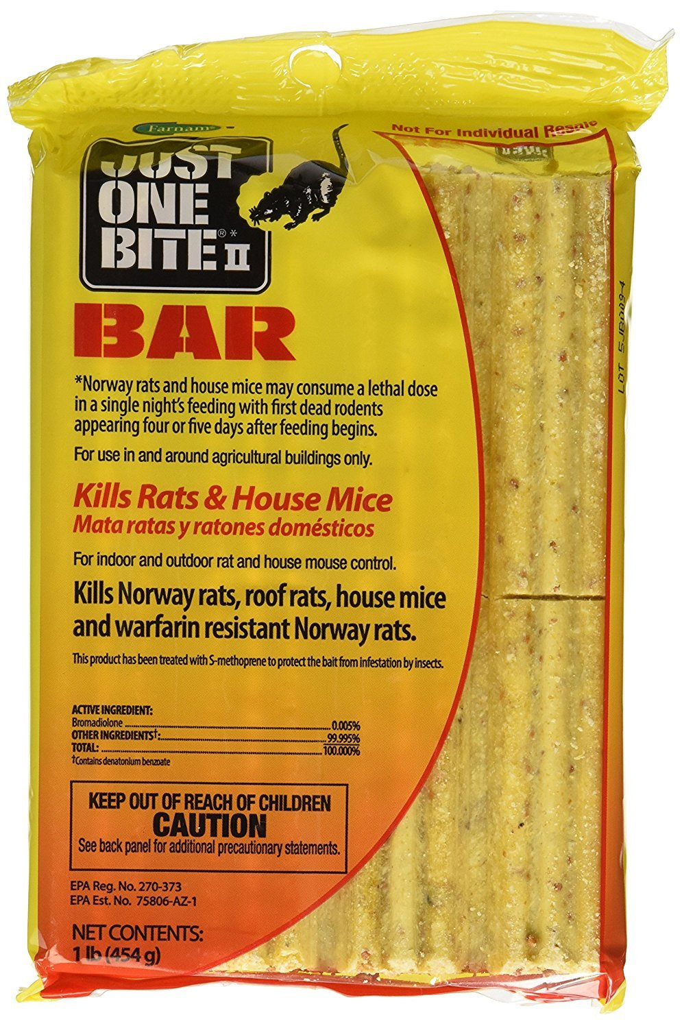 Old Cobblers Farnam Just One Bite 16oz. Bait Bar - Pack of 8 by Old Cobblers Farm ,