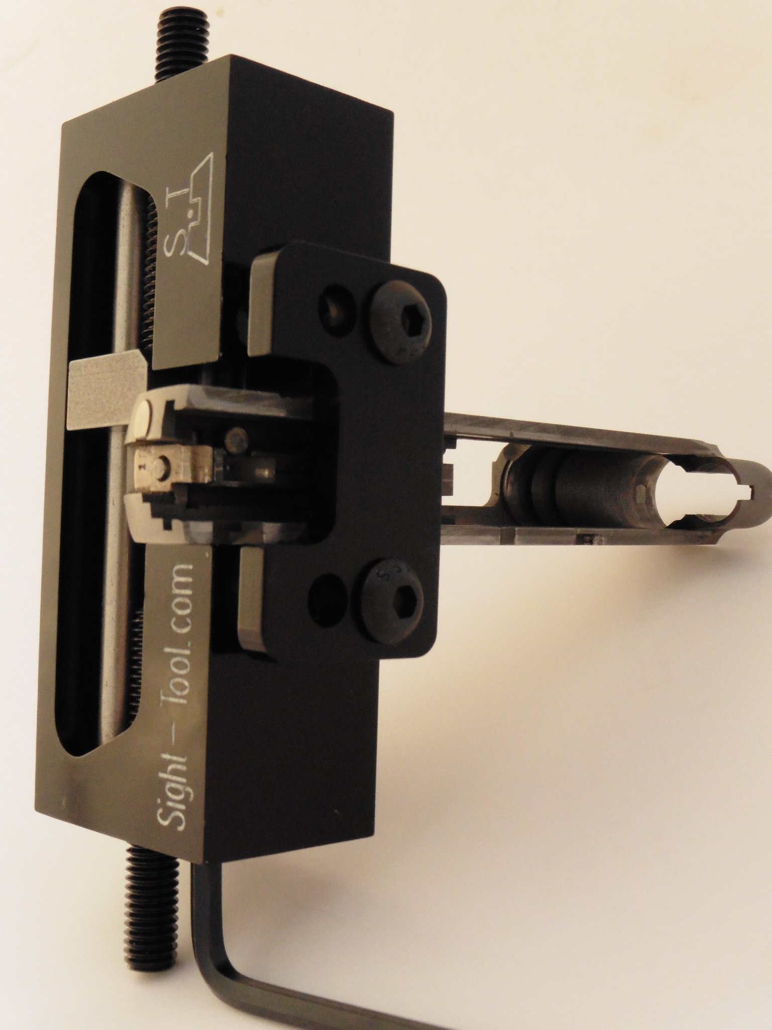 Universal Handgun Sight Pusher Tool for 1911 Sig springfield and others* Best tool on the market for front or rear sights* MADE IN USA by sight-tool.com (Image #5)